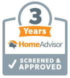 3 Years Home Advisor Screened and Approved